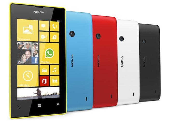 Imagen promocional del Lumia 520