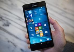 Lumia 950 con Windows 10 Mobile