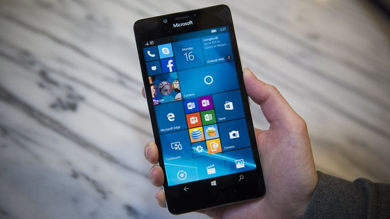 Lumia 950 con Windows 10 Mobile
