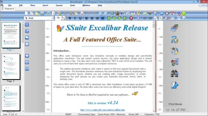 SSuite office word
