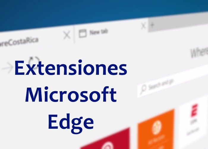 Estas son las novedades de las extensiones en la Windows 10 April 2018 Update