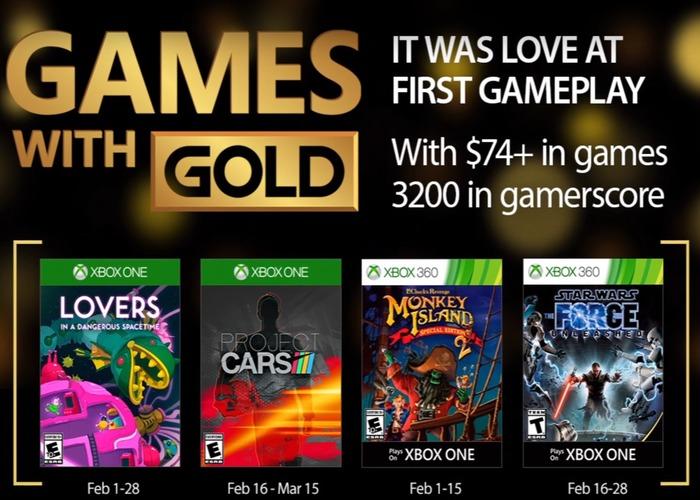 juegos con gold febrero 2017