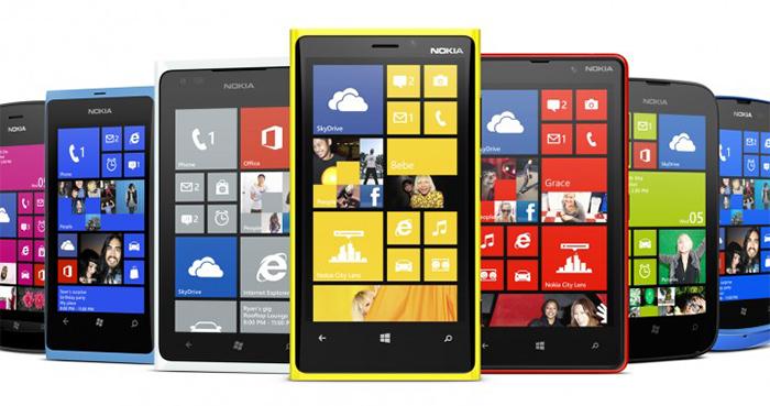 Gama Lumia de Nokia