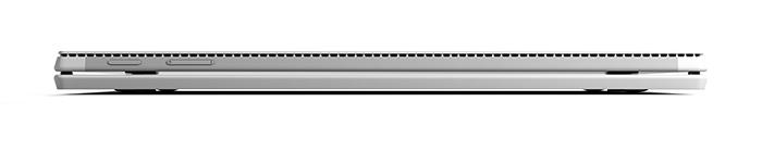 Lateral del teclado