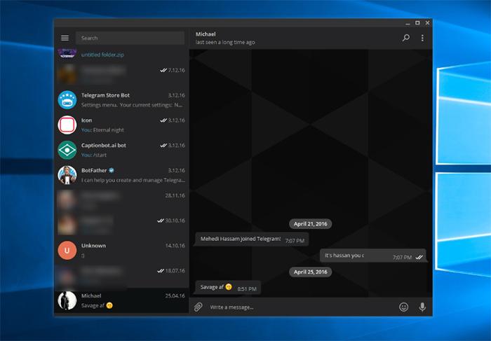telegram-negro