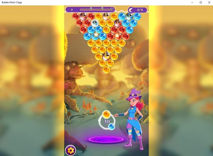 Bubble Witch 3 Saga captura 1