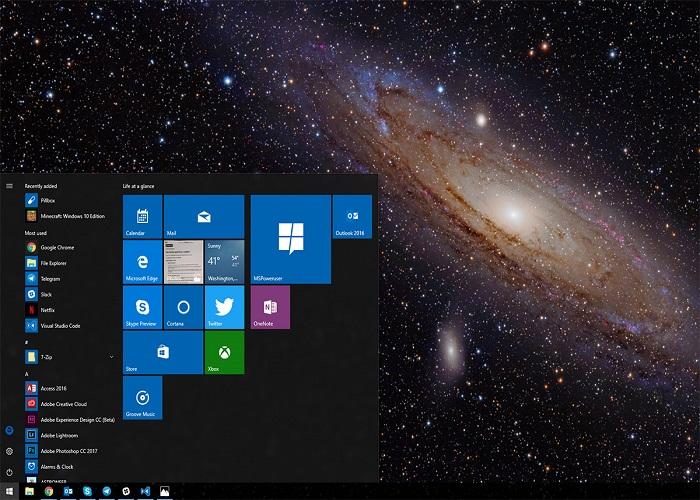 Andromeda Windows 10