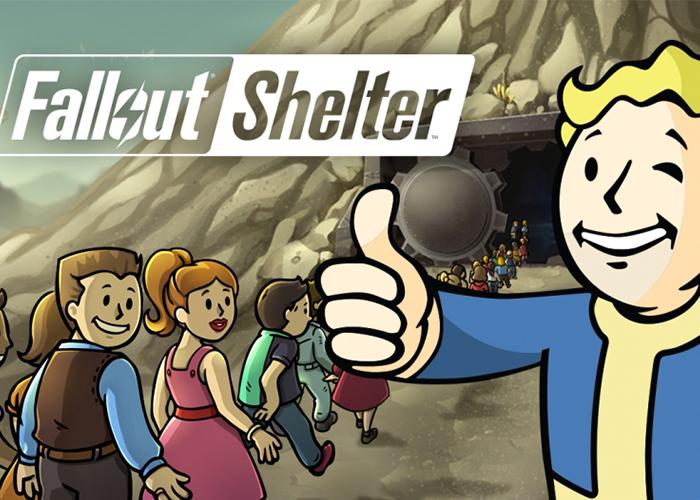 Imagen promocional de Fallout Shelter