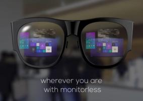 Imagen del vídeo de las gafas de Samsng