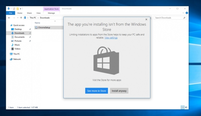 pregunta instalar aplicaciones Win32 Tienda de Windows