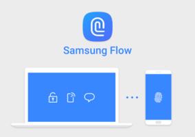 Logo de Samsung Flow