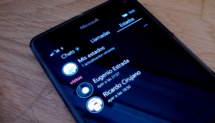 whatsapp estados windows phone windows 10 mobile