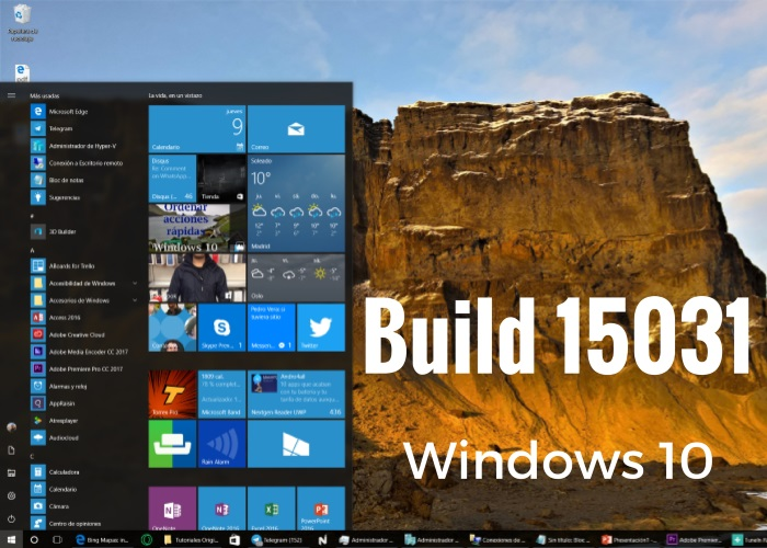 windows 10 insider 15031 destacada