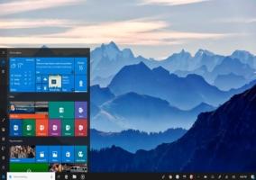 700 x 500 menu de inicio Windows 10 project NEON