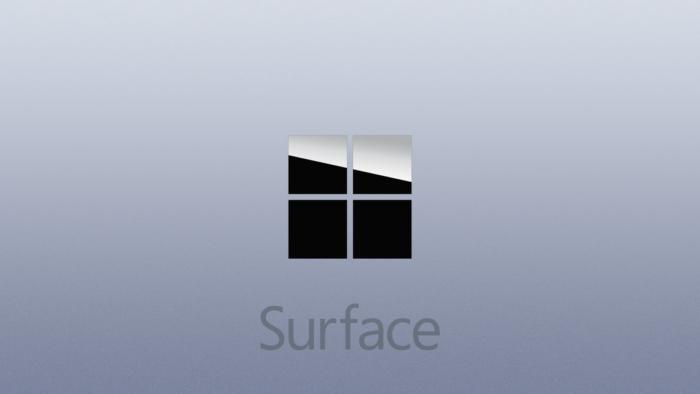 Microsoft Logo Surface