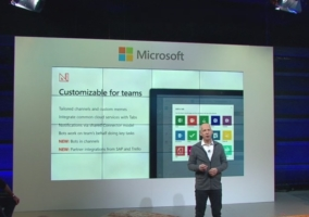 Microsoft Teams descatada
