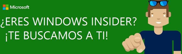 Windows Insider te buscamos a ti