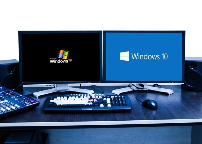 Windows XP y 10