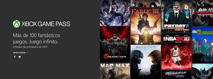Xbox Game Pass español