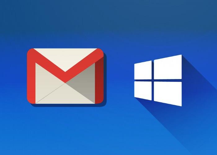 configurar cuenta gmail en correo de windows 10