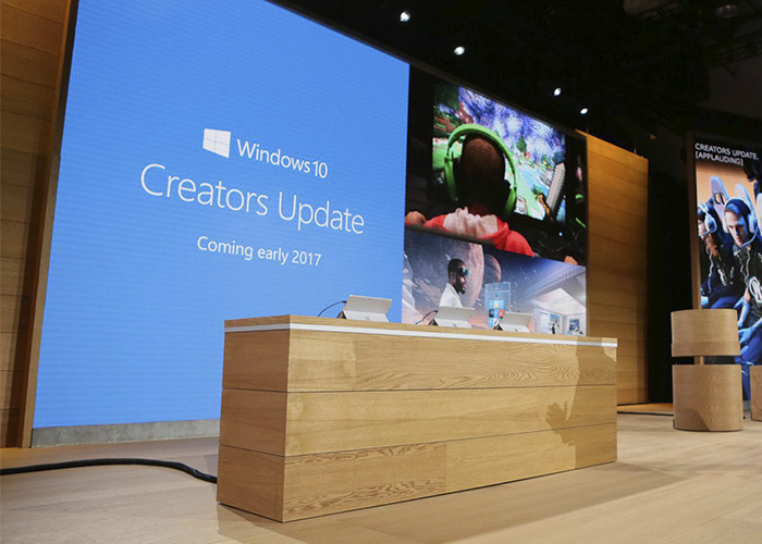Presentación de Windows 10 Creators Update