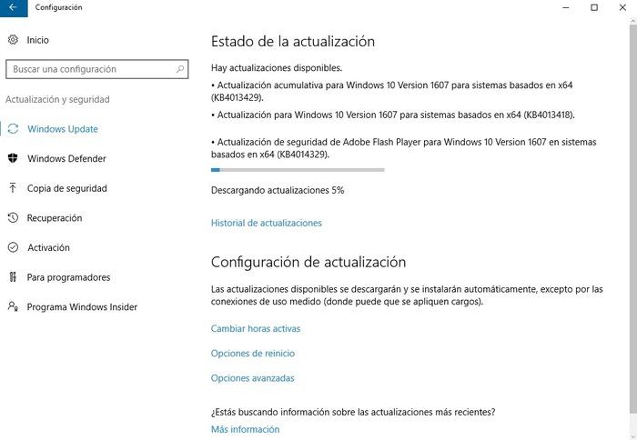 errores corregidos actualizacion 14393.953