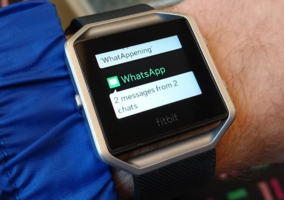 Notificaciones en Fitbit