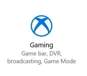 juego configuración nuevo icono build 15046