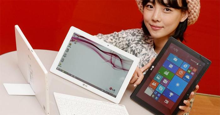 La última tablet de LG con Windows