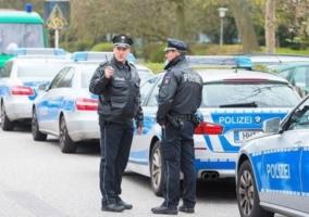 policia hamburgo destacada