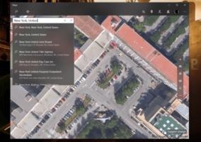 Aplicación Mapas Windows 10 Project NEON