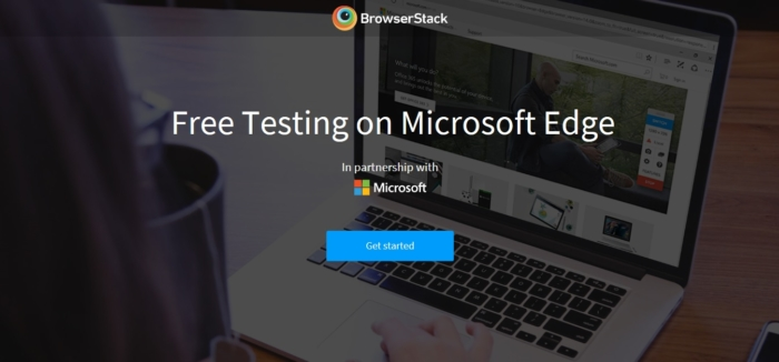 BrowserStack Web Edge