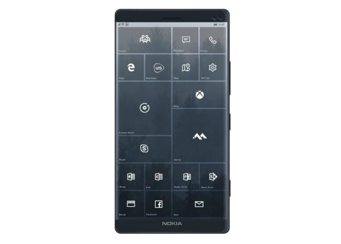 Concepto Windows Mobile