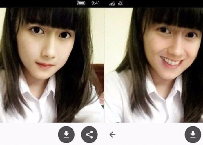 Face App Windows Phone captura aplicacion
