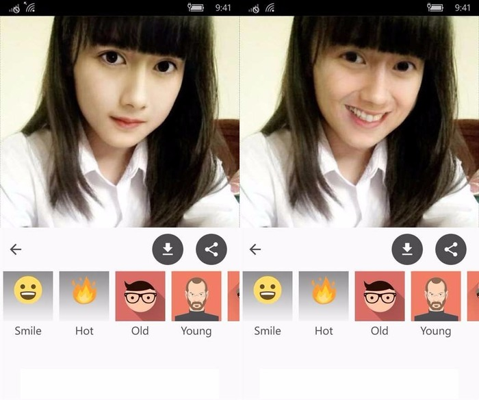 Face App Windows Phone