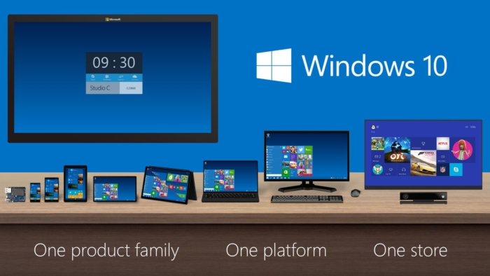 Familia Windows 10