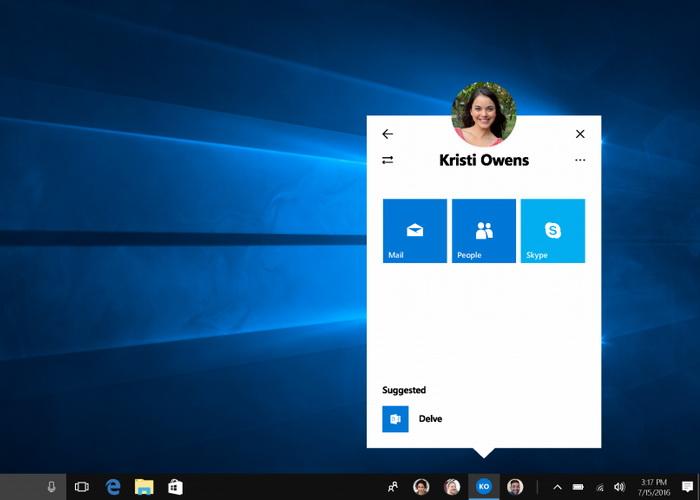 Mensajería instantánea en Windows 10