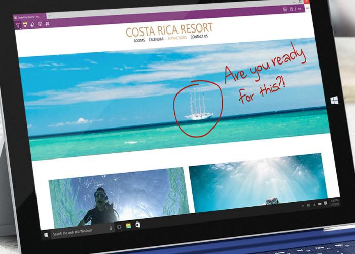 Microsoft Edge Surface