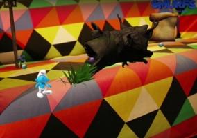Smurfs The Lost Village HoloLens