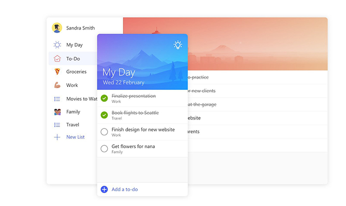 Nueva app Microsoft To-Do