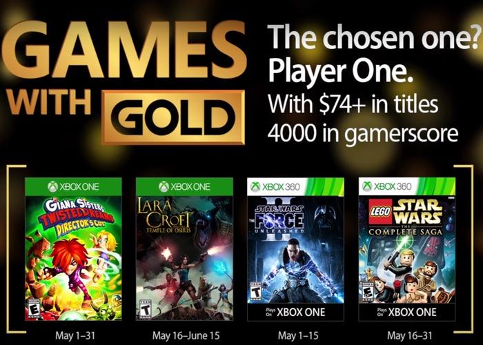 juegos con gold mayo 2017