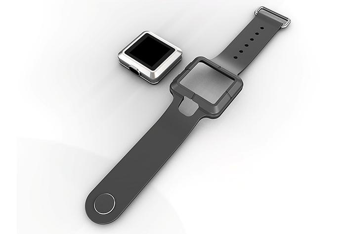 Concepto del smartwatch que prepara TrekStor con Windows 10