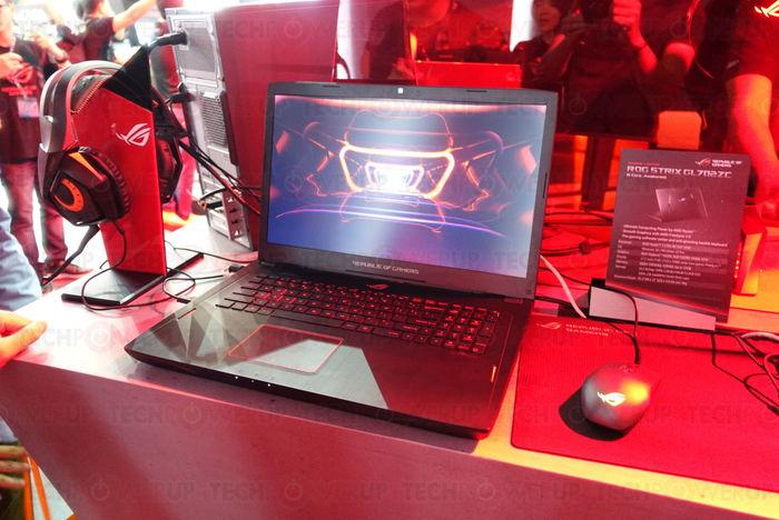 ASUS ROG STRIX GL702ZC computex 2017