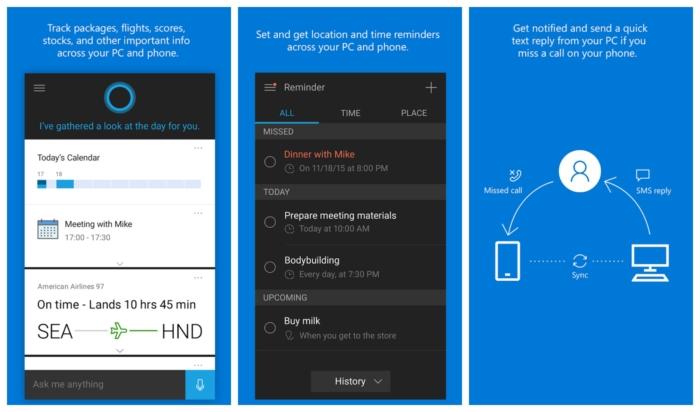 App Cortana Android