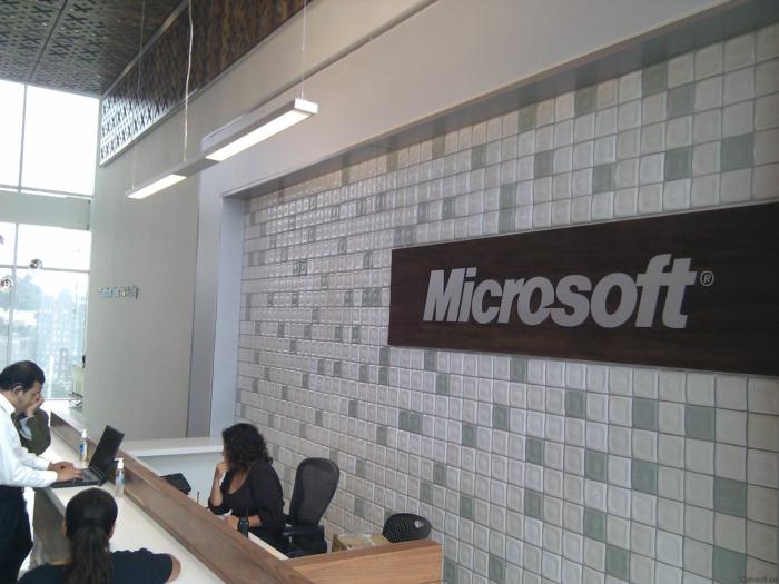 Entrada Microsoft