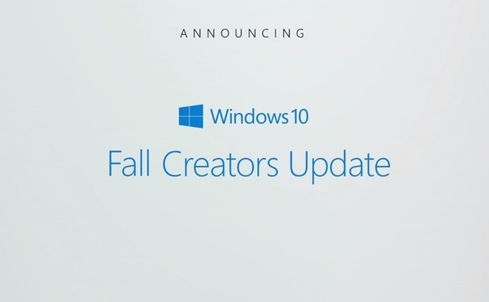 Fall Creators Update Windows 10