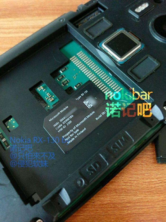 Lumia RX-130 lector huellas