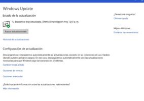 Pantalla Update