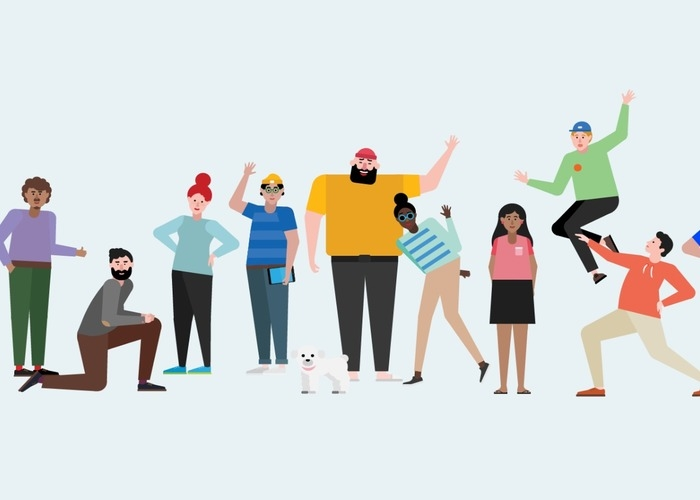 Personajes Microsoft Teams