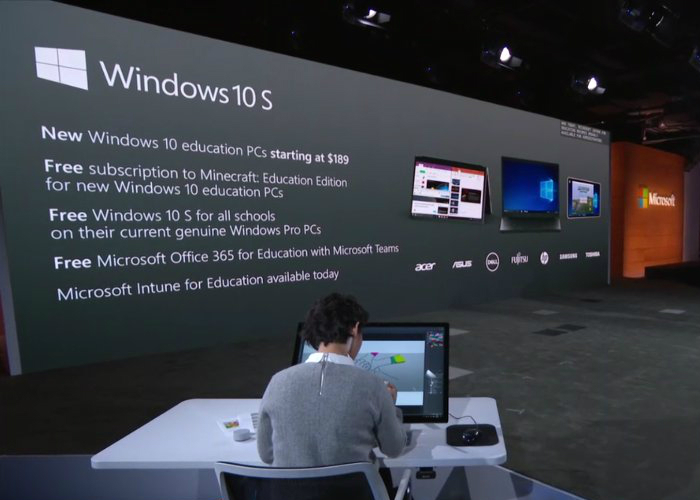 Presentacion Windows 10 S